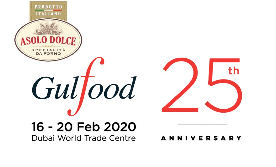 Asolo Dolce @ GulFood - from 16th to 20th February 2020 Dubai