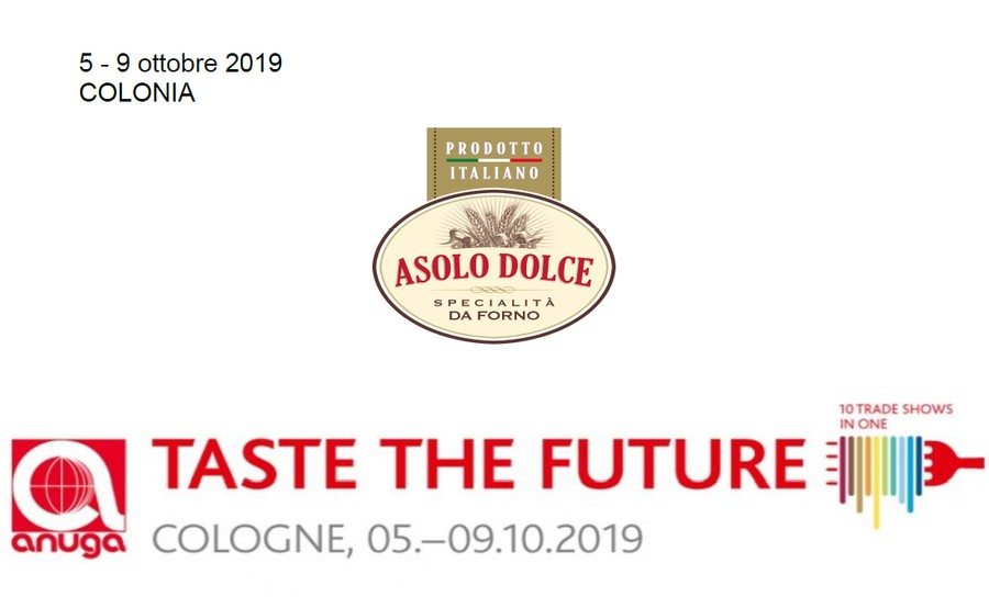 Asolo Dolce at ANUGA FAIR 2019 - from 5th to 9th October 2019, Cologne, Germany