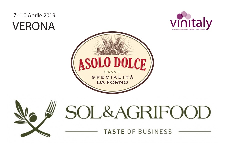 Asolo Dolce at FIERA VINITALY - from 7th to 10th april 2019 - Verona, Italy