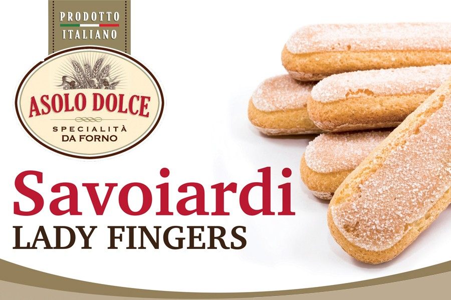 Asolo Dolce new product- Savoiardi!
