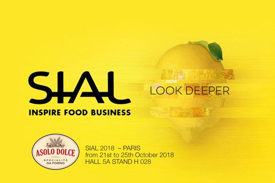 Asolo Dolce @ SIAL - Paris - from 21st to 25th October 2018