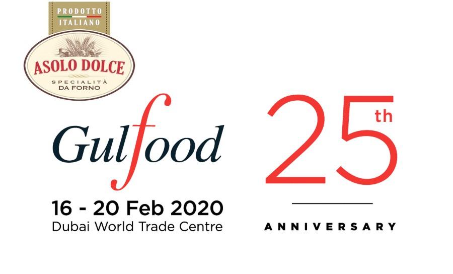 Asolo Dolce alla fiera GulFood - dal 16 al 20 Febbraio 2020 Dubai